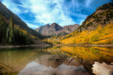The Maroon Bells Photographic Print by Photography by Phillip Rubino