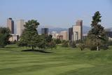 Downtown Denver Skyline Photographic Print by John Kieffer