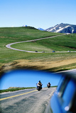 Traffic on Trail Ridge Road, Rocky Mountain National Park, Colorado, United States of America, Nort Photographic Print by Holger Leue
