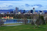 Springtime in Denver Photographic Print by Hansrico Photography