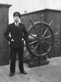 Ship's Captain Photographic Print by Monty Fresco