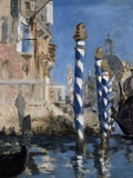 The Grand Canal of Venice or Blue Venice by Edouard Manet Photographic Print