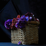Hydrangea in Basket 2 Photographic Print by Magda Indigo