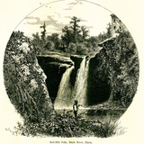 Red-Mill Falls, Black River, Elyria, Ohio Photographic Print by  Classix