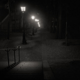The Steps at Monmartre by Night Photographic Print by Doug Chinnery