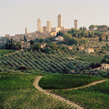 San Gimignano, a UNESCO World Heritage Site in Tuscany, Italy. Photographic Print by Cultura Travel/Philip Lee Harvey