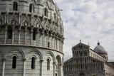 Pisa, Italy - the Baptistery and Duomo Photographic Print by Sebastian Santa