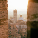 View of Duomo Cathedral from the Tower on Piazza Del Campo, Siena, Tuscany, Italy Photographic Print by Cultura Travel/Philip Lee Harvey