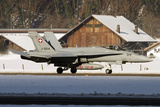 An F-A-18 Hornet of the Swiss Air Force Photographic Print