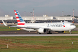 An American Airlines Boeing 767 at Milano Malpensa Airport, Italy Photographic Print