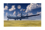 The Enola Gay B-29 Superfortress at Walker Air Force Base Posters