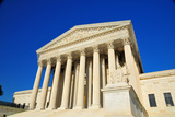 US Supreme Court Building Washington DC Photographic Print by  mbell