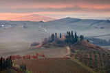Podere Belvedere Photographic Print by Photographer  Renzi Tommaso tommyre00@hotmai