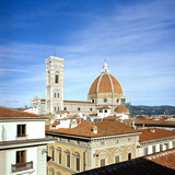 View of Duomo and Giotto Bell-Tower Photographic Print by  Maremagnum