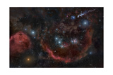 A Deep and Large Wide Field of the Constellation Orion Posters