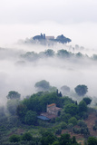 Morning Mist in the Val D'orcia Photographic Print by Jeremy Woodhouse