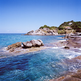 Sant'andrea. Rocks near Sant'andrea Beach Photographic Print by  Maremagnum