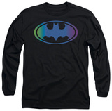 Long Sleeve: Batman - Gradient Bat Logo T-shirts