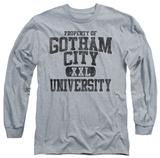 Long Sleeve: Batman - Property Of GCU T-shirts