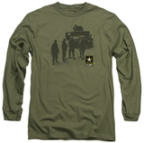 Long Sleeve: Army - Strong T-Shirt