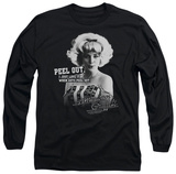 Long Sleeve: American Graffiti - Peel Out T-Shirt