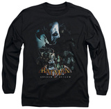 Long Sleeve: Batman Arkham Asylum - Five Against One T-shirts