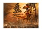 Giganotosaurus Hunting Posters