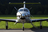 A Pilatus Pc-12 Private Jet Photographic Print