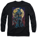 Long Sleeve: Batman - Paint The Town Red T-shirts