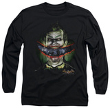 Long Sleeve: Batman Arkham Asylum - Crazy Lips Shirts