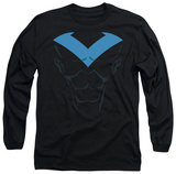 Long Sleeve: Batman - Nightwing Costume Shirts