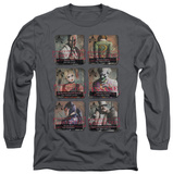 Long Sleeve: Batman Arkham City - Arkham Lineup T-Shirt