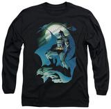 Long Sleeve: Batman - Glow Of The Moon T-Shirt