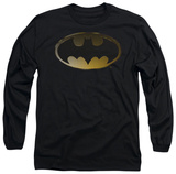Long Sleeve: Batman - Halftone Bat Shirt