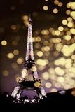 Icon - Paris Affiches par Kate Carrigan