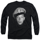 Long Sleeve: Andy Griffith - Barney Head Shirt