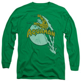 Long Sleeve: Aquaman - Splash Long Sleeves
