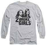 Long Sleeve: 2 Broke Girls - Broke Girls T-Shirt
