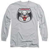 Long Sleeve: Airwolf - Patch T-Shirt