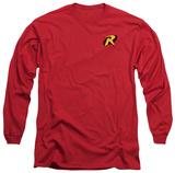 Long Sleeve: Batman - Robin Logo Shirts