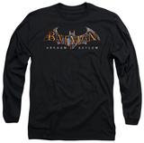 Long Sleeve: Batman Arkham Asylum - Arkham Asylum Logo T-shirts