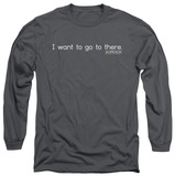 Long Sleeve: 30 Rock - I Want To Go There Shirt