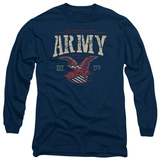 Long Sleeve: Army - Arch T-Shirt
