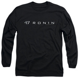 Long Sleeve: 47 Ronin - Logo Shirts