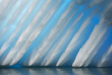 Abstract of Ice Formation on Melchior Islands, Antarctic Peninsula, Antarctica Photographic Print