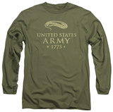 Long Sleeve: Army - We'll Defend T-shirts
