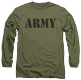 Long Sleeve: Army - Army T-shirts