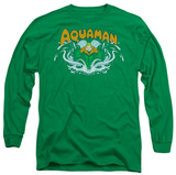 Long Sleeve: Aquaman - Aquaman Splash T-shirts