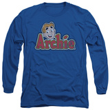 Long Sleeve: Archie Comics - Distressed Archie Logo T-shirts