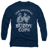 Long Sleeve: Andy Griffith - Buddy Cops T-Shirt